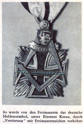 Nazi World Freemasonry Exposed Booklet