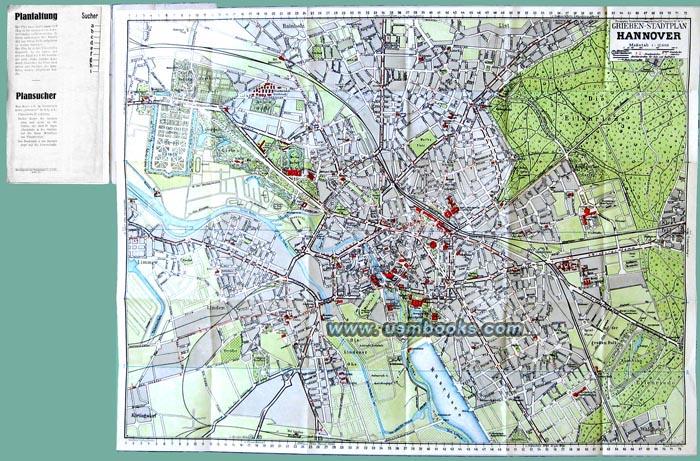 Nazi grieben map of hannover third reich grieben map of hannover altavistaventures Images