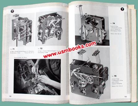 1939 Kienzle Clocks Catalog