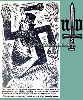 Nazi Hate Propaganda Book