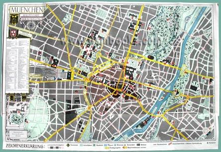 Nazi Tourist Information for Munich