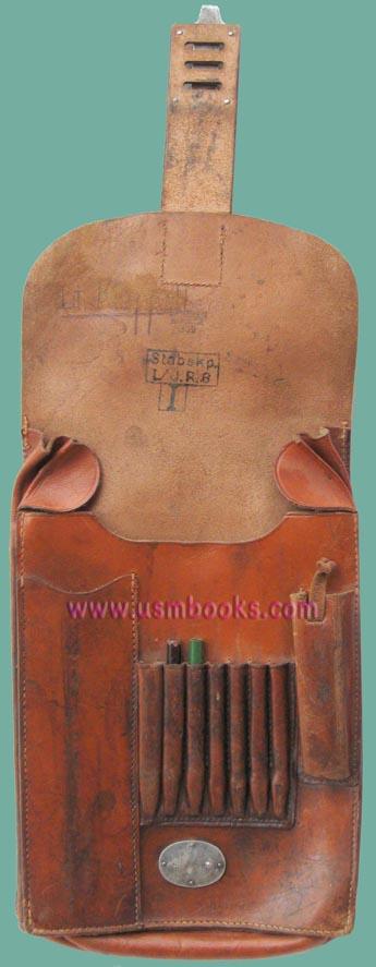 Leather Nazi Map Case