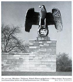 Nazi Eagle Statue