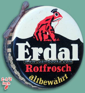 Have a look at the original Third Reich can of Wehrmacht Lederfett