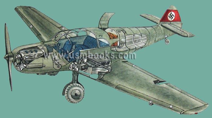 Me 108 Taifun Schnellflugzeug Bf 108